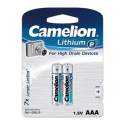 Camelion - L92 - AAA - Lithium Batteri